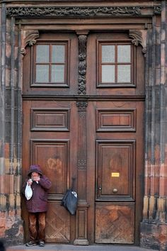 Tür / Tor am Straßburger Münster