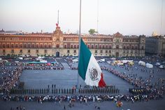 Flag Day;  Mexico;  February 24;  Also called Independence  Proclamation Day. Anniversary of the proclamation  of Iturbide's Plan of Iguala,  projecting independence from Spain.