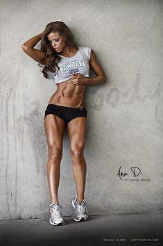 Ana D. Fitness Model