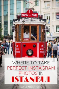 Your ultimate guide to Instagramming Istanbul! We've gathered the best photo spots in Istanbul for the most Instagram-worthy Istanbul trip! We know the best views in Istanbul, as well as off the beaten path Istanbul Instagram spots, so make sure you check out our picks for the most Instagrammable places in Istanbul (some will surprise you) plus clear directions on how to visit each. Photography Guide, Travel Photography, Istanbul Guide, My Adventure Book, Best Travel Backpack, Travel Tips, Travel Plan, Travel Destinations, Istanbul Travel