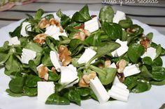 JULIA Y SUS RECETAS: ensaladas