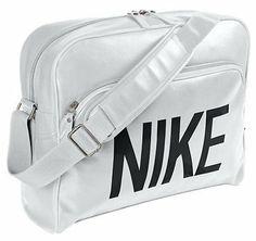27239eb435 Nike Heritage SI Track Retro White Black New Unisex Mens Womens Shoulder Bag