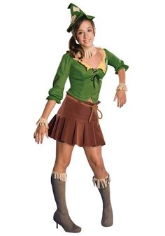 Teen Scarecrow Girls Costume - Wizard of Oz Costumes for Teens