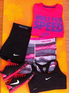 Love Nike Pro shorts!