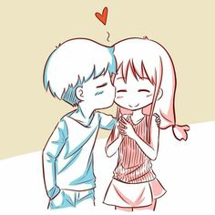 Anime Couples Drawings, Couple Drawings, Cute Anime Couples, Love Drawings, Cute Couple Comics, Cute Couple Art, Cute Comics, Manga Love, Anime Love