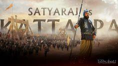 Baahubali Poster: Satyaraj as Kattappa