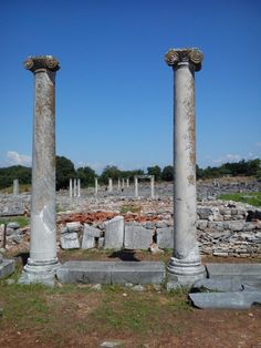 Ancient Philippi, Macedonia in northern Greece