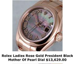 Rose gold Rolex