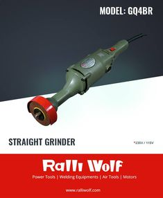 Ralliwolf GQ4/GQ4BR11 has numerous applications other than conventional grinding/weld dressing in light engineering works. It is widely used for rust removal (derusting) in heavy steel fabrication industries by using a circular wire brush.