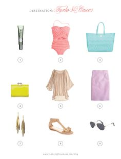Classically Chic Finds: Resort Wear - Kimberly FitzSimons : Beyond Paper