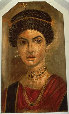 portrait of a young woman 110 encaustic on wood🔹Fayoum Mummy Portrait 🔹More Pins Like This At FOSTERGINGER @ Pinterest🔹🔹