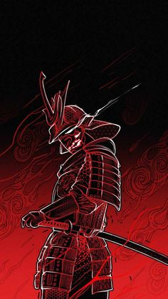 Samurai Art iPhone Wallpaper - iPhone Wallpapers