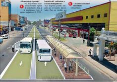 Quito's BRT (Bus Rapid Transit) is called MetrobusQ.