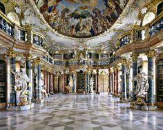 Wiblingen Abbey Library, Alemania (Europa)