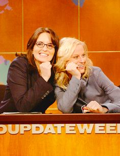 Tina Fey & Amy Poehler - Weekend Update