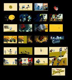 Artes de Duck Tales, por Janine chang, Justin e Josh Parpan   THECAB - The Concept Art Blog