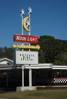 """PLACES IN WHICH I HAVE BEEN"" *  MOON LIGHT DRIVE-IN *  TITUSVILLE, FL"