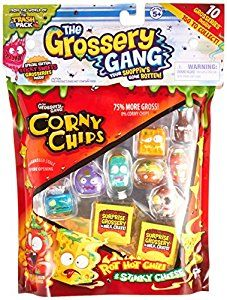 Amazon.com: The Grossery Gang S1 Large Pack W1: Toys & Games