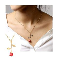 Raposa Elegance Sterling Silver I Love Dancing Small Red Heart Charm Necklace 16, 18 or 20 Chain