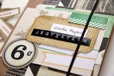 beedee - jegyzeteim Crate Paper, Scrapbook Albums, Crates, Scrapbooks, Shipping Crates, Drawers, Barrel