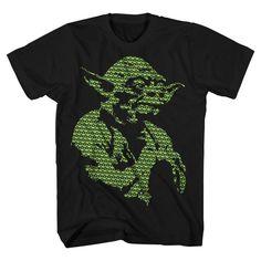 Star Wars Men's Yoda T-Shirt Charcoal Heather
