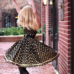 Own this @ModCloth dress; wore it for New Year's!