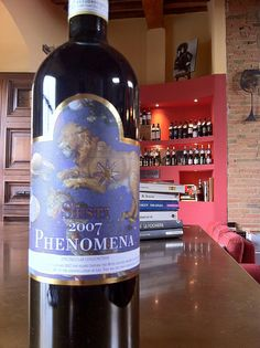 """Just arrived. Brunello di Montalcino Sesti, Phenomena. At """"E lucevan le stelle"""" wine bar & bistro #Montepulciano #Tuscany"""