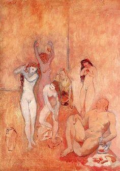 El Harén, (The Harem), 1906 Pablo Picasso