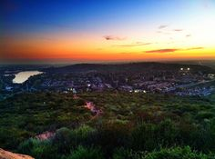 View from Cowles Mountain. I used to hike here all the time. I miss it.