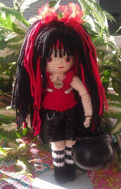 StormyA fully poseable crochet doll by StitchesandLoops on Etsy