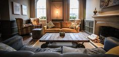 Kings head hotel cirencester, designed & created by Calico Interiors. Call us for any interior needs #interiors #interiordesign #hotel #hotelinteriors #project