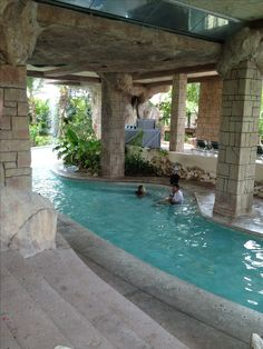 Turks and Caicos,Beaches Resort. Lazy river in the water park.   |  ≼❃≽ @kimludcom