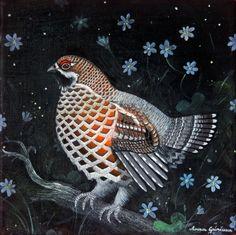 Bird Print Hazel Grouse Realistic Wildlife Art Print Hazel   Etsy   Bird prints, Wildlife art, Art prints