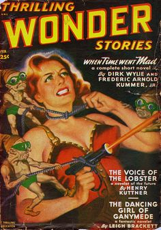 Thrilling Wonder Stories – The Voice of the Lobster by Earle K. Bergey | Flickr - Photo Sharing!