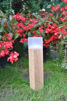 drewniana lampa ogrodowa, oświetlenie ogrodowe, 32 - Przemyslaw653 - Oświetlenie zewnętrzne