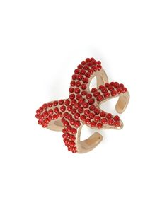 love our coral sea star ring