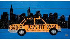 Aaron Foster: New York City License Plate #wallart #nyc