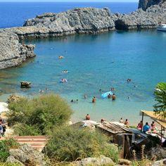 St. Pauls Bay, Lindos , Rhodes
