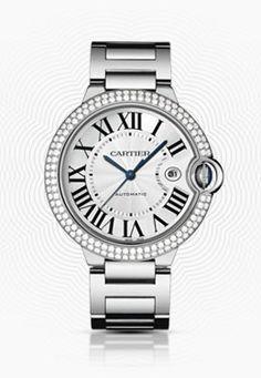 cartier ballon bleu #cartier #diamonds #whitegold