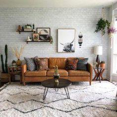 "Hamilton Leather Sofa (81"") | west elm #LeatherLivingRoomSet Boho Living Room, Living Room Decor, Dining Room, Living Room Furniture, Home Furniture, Furniture Design, Furniture Sets, Furniture Buyers, Business Furniture"