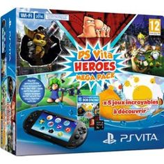 Console Playstation Vita 2000 + Voucher Heroes Mega Pack - PriceMinister-Rakuten http://www.babypron.com/toys
