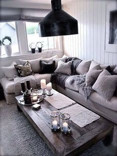 1527 Best Cozy Living Room Decor Images On Pinterest In 2019