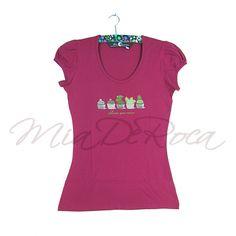 Organic Shirt Garance - MiaDeRoca Organic, Lifestyle, Pink, T Shirt, Tops, Women, Fashion, Supreme T Shirt, Moda