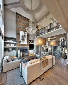 Breathtaking 50 Stunning Rustic Living Room with Fireplace http://toparchitecture.net/2018/03/26/50-stunning-rustic-living-room-with-fireplace/