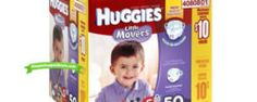 *HOT* Huggies Diapers $5.99/box at RiteAid ($0.08 Per Diaper)