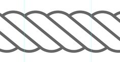 Drawing vector Rope in Illustrator