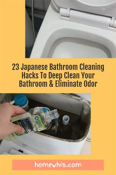 Want to know how to deep clean your bathroom and make it smell good 24/7 without breaking a sweat? Here are 23 of the best bathroom cleaning hacks to do just that! You'll find the before and after photos to prove that these cleaning tips work! From how to clean grout lines, soap scum, hard water stains, stubborn stains and how to make your bathroom smell good. #homewhis #cleaninghacks #bathroomcleaninghacks #vinegarcleaningspray #bakingsoda #toiletcleaner #soapscum #hardwater Bathroom Cleaning Hacks, Deep Cleaning, Cleaning Tips, Fridge Organization, Home Organization Hacks, Listerine, Clean Grout Lines, Japanese Bathroom, Hard Water Stains