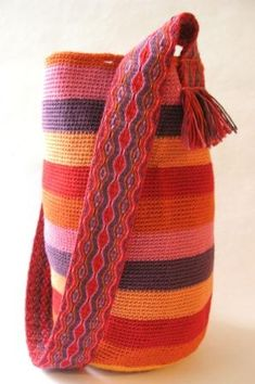 Telar egipcio y crochet