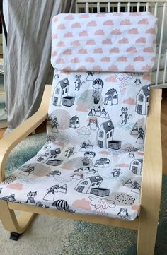 Fantastic No Cost Sewing for beginners children Concepts Ikea Poäng Kindersessel Bezug mit rosa Wolken Headband Tutorial, Diy Tutorial, Tutorial Sewing, Sewing Patterns Free, Free Sewing, Sewing For Kids, Diy For Kids, Sewing Hacks, Sewing Tutorials