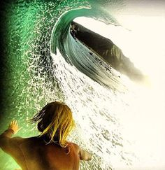 I don't know about surfing... but i love watching it so, i'd maybe give it a li'l try.. :$